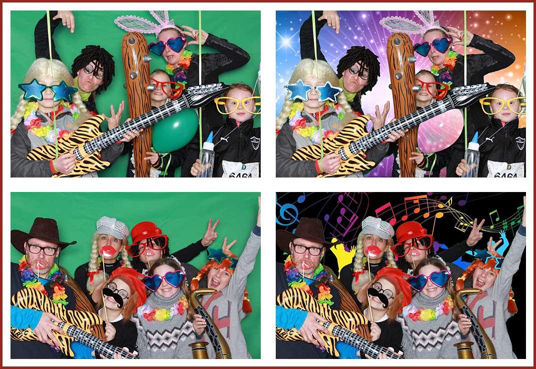Photobooth fest med Green Screen effekt